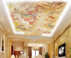Roof Ceiling Design Pics 3d European Style Wallpaper Roof Ceiling Paint Design Hd