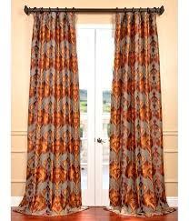 elegant rust colored kitchen curtains taste