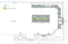 kitchen lighting layout. Kitchen Lighting Layout Recessed Spacing L