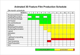 Film Production Calendar Template Film Production Calendar Template Shooting Schedule Free Word Excel