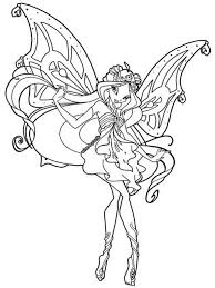 Winx Club Enchantix Free Coloring Pages On Art Coloring Pages