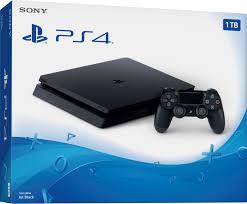 1tb Black - Sony Playstation Console 4