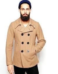 beige pea coat fidelity fidelity made in beige pea coat short beige pea coat with hood beige pea coat
