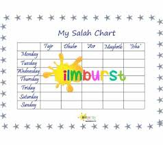 Salah Chart My Salah Chart Stars Ilmburst