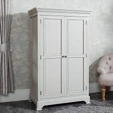linen closet low wardrobe daventry taupe grey range