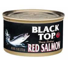 black top fancy sockeye red salmon