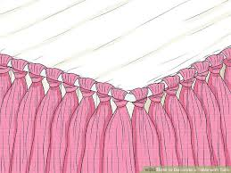 image titled decorate a table with tulle step 10