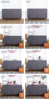 How To Style A Functional Entryway Credenza