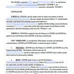 Free Commercial Lease Agreement Template Word Free Missouri ...
