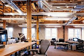 office design firm. opensource software startup github enlisted interior design firm studio hatch to deck its open office