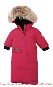 Canada Goose Chateau Parka Black Label Pink Baby Canada Goose Snow Bunting  Clearance