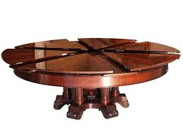 innovative expanding round table plans expanding dining room table plans home design ideas
