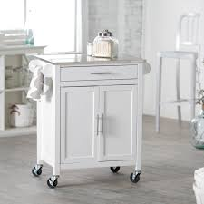 white kitchen cart with stainless steel top awesome kitchen island cart stainless steel ikea drawers with