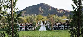 The Best Outdoor Wedding Venues In The Phoenix Arizona Area El