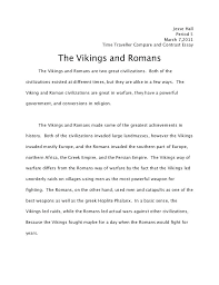 Compare Essay Examples Compare And Contrast Essay Hall Comparison