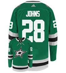 Home Stars Hockey Adidas Johns Jersey Nhl Dallas Authentic Stephen