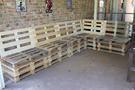 pallet outside furniture. Simple Pallet Patio Furniture Outside