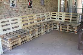 simple pallet patio furniture