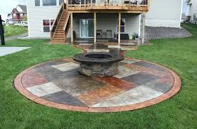 plain concrete patio. Concrete Backyard Landscaping Decor Of Patio Paint Ideas Painted Patios Small . Plain