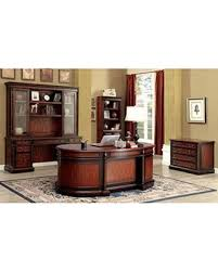 oval office desks. Strandburg CM-DK6255DO Oval Office Desk With Transitional Style Multiple Drawers Antique Knobs And Desks I