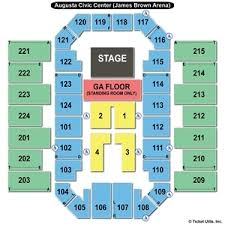 James Brown Seating Chart Miller Auditorium Seating Chart Augusta Entertainment