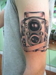 Camera Tattoo On Biceps 3 Tattoos Book 65000 Tattoos Designs