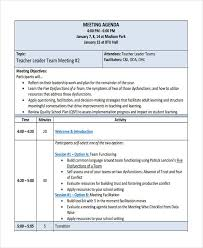 10+ Team Agenda Examples, Samples
