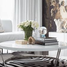 to decorate and style a coffee table