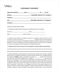 Inventory Form Template Adorable Standard Consignment Agreement Form Inventory Template Template Gbooks