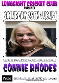 Connie Rhodes – Excellent Female Vocal Entertainer | Longsight Cricket Club