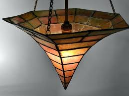 arts and crafts chandelier arts and crafts s witches cap chandelier 2 arts crafts ceiling light