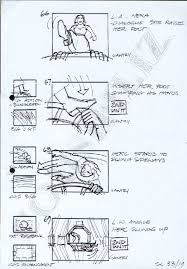 Script Storyboard Classy SOULMATES Hercules 'Reunion' Storyboard Script Scene 48 48A