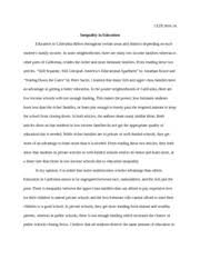 crash movie and social justice essay this is my second time  4 pages inequality in education essay