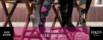 Pikeur Childrens Size Chart Pikeur Size Guide Equus