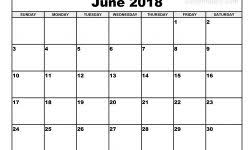 3 Month Summer Calendar 2018 Journalingsage Com