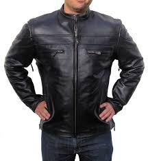 alter ego wearing a black leather jacket