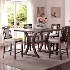dining room table and chair sets contemporary high top dining room table new astounding house colors