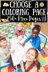 Find the best online printable coloring pages and books for your kids from kids world fun. 250 Free Original Coloring Pages For Kids Adults Kids Activities Blog