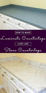 try this cool technique to make laminate countertops look like granite so you can have