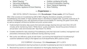 Sample Resume For Hotel Manager Housekeeping Fresh Samples Tips And Classy Orb Resume