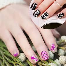 aliexpress 1 piece nail art sting plate blessing flower choker pattern template image print transfer nail makeup st stencil 2017 ck08 from