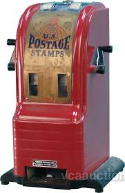 Vintage Us Postage Stamp Vending Machine
