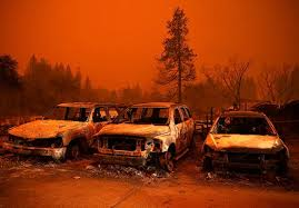 California Wildfire Is Burning So Hot Cars Are Melting