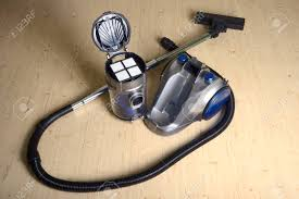 Vacuum With Light Vacuum Cleaner With Removed Dust Container And Filter On The