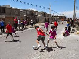 Resultado de imagen para futbol callejeros