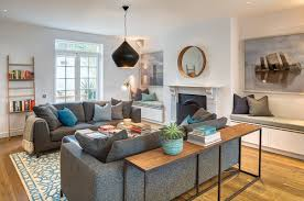 using a sofa table to redefine your space