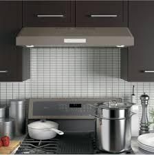 Ge Profile Dishwasher Filter Ge Pvx7300ejes 30 Inch Under Cabinet Range Hood With 400 Cfm 4