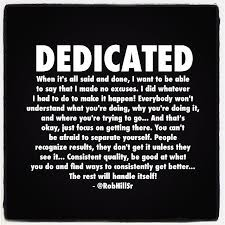 Dedication Quotes Extraordinary 48 Best Quotes About Dedication