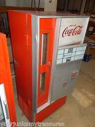 Coke Vending Machine Models Enchanting Coke Vending Machines Model VF 48 P SA With Water Fountain RARE 48