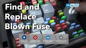 how to find and replace a blown fuse in your car or truck buy fuse box for cars how to find and replace a blown fuse in your car or truck buy quality auto parts at 1aauto com youtube